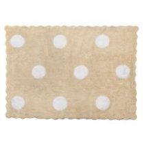 Aratextil alfombra lavable Topos Beige