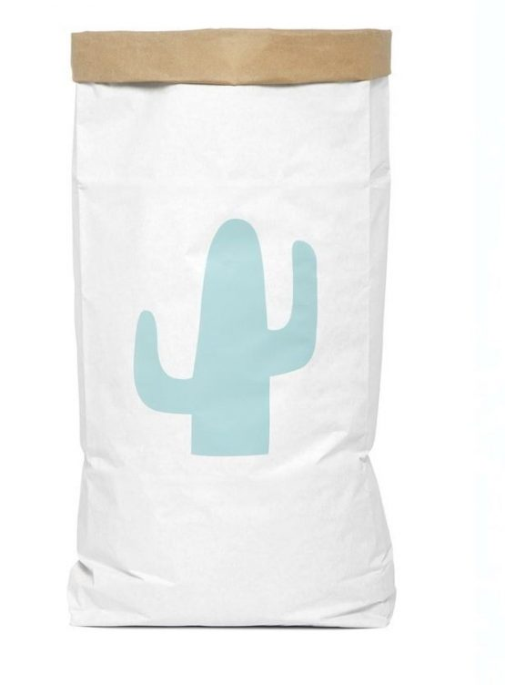 Benized Bag saco guarda juguetes cactus