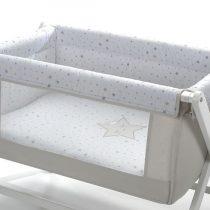 Disbebe minicuna rejilla lateral Estrella dormilona