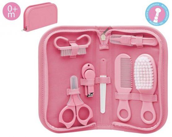 Kiokids Higiene con Neceser rosa