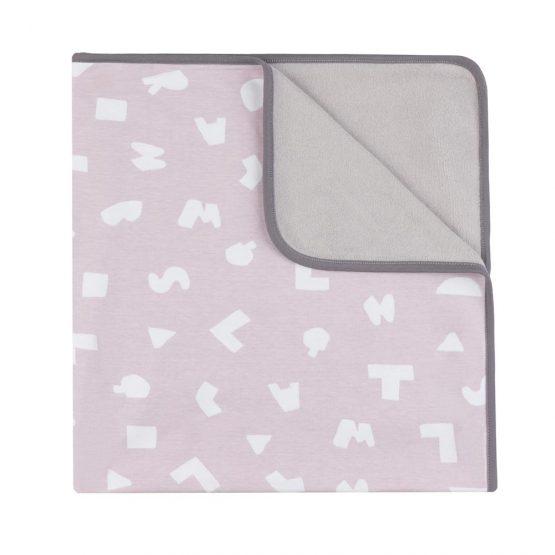 BabyClic Arrullo Letras rosa