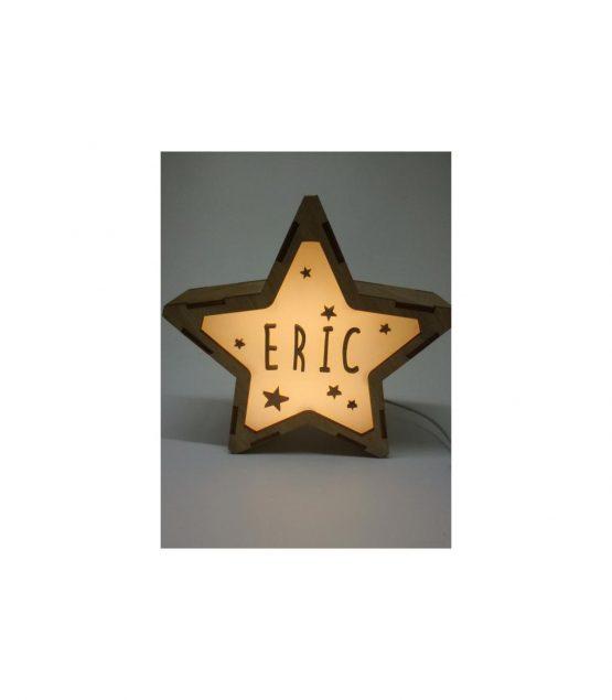 Estrella Estrellas lámpara personalizable