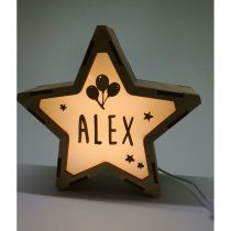 Estrella Globos & Estrellas lámpara personalizable