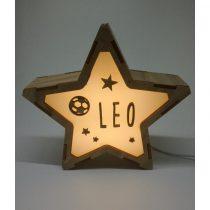 Estrella Pelota lámpara personalizable