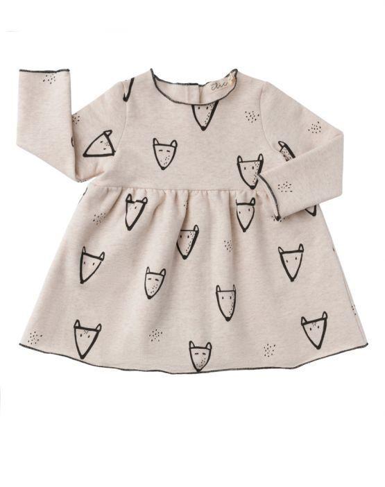 Baby clic Vestido FOX