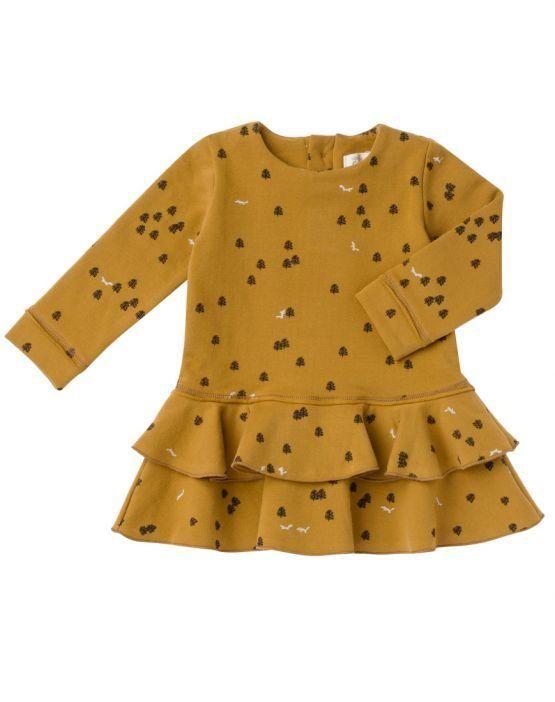 Baby clic Vestido MOSS CURRY